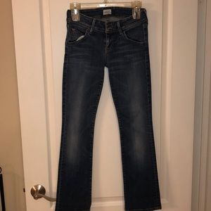 Hudson Beth Baby Boot Jeans size 26
